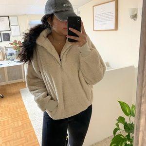 Express fleece quarter-zip sweatshirt